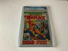 MARVEL PREMIERE 2 CGC 9.2 WARLOCK RHODAN AND HOUNDS OF HELIOS MARVEL COMICS 1972