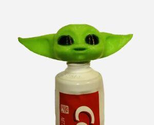 Baby Yoda Toothpaste Vomit dispenser Topper