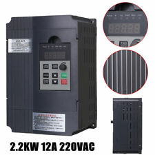 220V 2.2KW Single Phase Input To 3 Phase Output Frequency Drive Inverter VFD VSD
