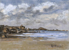 Small (up to 12in.) Landscape Art Pastel Paintings