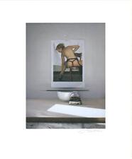 Peter Handel - Stefanie und J. P Gaultier - Originalpigmentgrafik - handsigniert