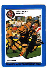 Scanlens 1989 Season NRL & Rugby League Trading Cards