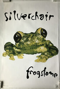 Silverchair frogstomp Vintage Poster