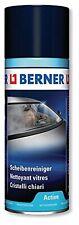3x Berner Scheibenreiniger Active 400ml, Spraydose, Glasreiniger, Aktivschaum