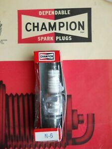 Champion N6 Spark Plug - equivalent to NGK B6ES / Bosch W8C