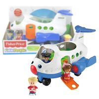 Fisher Price Little People Lil' Movers Airplane Playset Toy with 3 figures