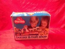 VINTAGE 1979 KENNER TOY - BURGER AND MALT SHOP     IN ORIGINAL BOX (COMPLETE)