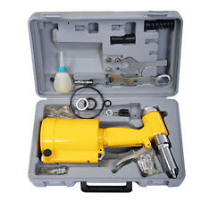 Pneumatic Air Hydraulic Pop Rivet Gun Riveter Riveting Tool w/ Case