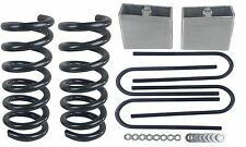 "3/4 Drop Kit S10 2wd 4 Cylinder 3"" Front Springs 4"" Rear Aluminum Blocks Ubolts"