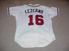 Sixto Lezcano Game Worn Signed Jersey Atlanta Braves