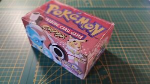 CardBox Set De Base Pokemon Boite Deck Wizards 1999