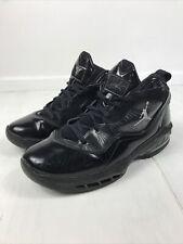 2011 Air Jordan Melo M8 469786-001 Black/Silver/Charcoal, UK 7, EUR 41