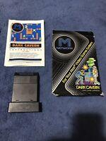 Dark Cavern (Atari 2600, 1982) By M Network - Box Cartridge & Manual Tested CIB