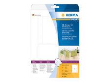 Herma Cd-einleger für Jewelcase 151x118 Mm weiß 25 St. 5036
