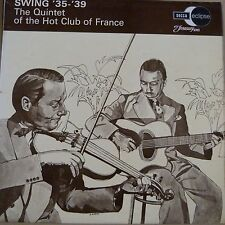 vinyl lp record SWING '35-'39, The Quintet of the Hot Club of France, ecm 2051