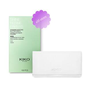 KIKO Milano Shine Refine Papers 100pcs powdered blotting sheets Mattifying