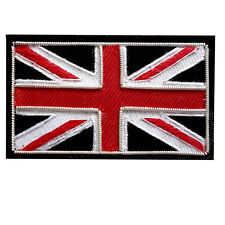 Union Jack Wire Bullion Badge Hand Made for Parka Mods Scooter Patch The Who