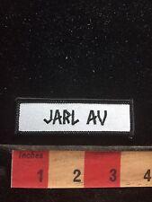 JARL AV Tab Patch S74P