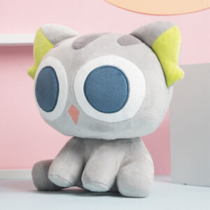 Anime Luo Xiaohei Cat Plush Toys Soft Stuffed Doll Pillows Gifts for Kids