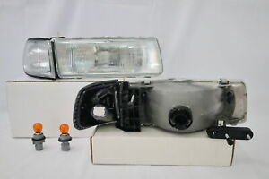 New OE Style Headlight Pair + Clear Corner For Sentra B13 1991 1992 1993 1994