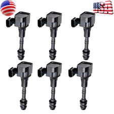 6 New Genuine OEM Ignition Coil Fits Nissan Altima Frontier Pathfinder Maxima Mu