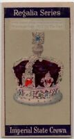 Imperial State Crown  Jewels of the United Kingdom 1920s  Trade Ad Card