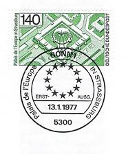 BRD 1977: Palais de l'Europe Nr 921 mit Bonner Ersttags-Sonderstempel! 1A! 153