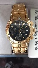ZODIAC GENTS WATCH, Swiss Made Automatic Chronograph, Very Rare VALJOUX 7750