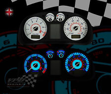 VW polo mk3 mk2  speedo clock gauge interior dash lighting upgrade dial kit