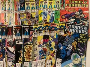 Transformers   Marvel Comic  Mixed Lot   U-Pick   You Pick   Complete Your Set !