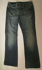 DIESEL Jeans VINTAGE Finish WOMEN SIZE 26 RN93243 CA25594 Made in Italy EUC