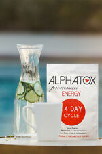Alphatox Tea 100% Pure (14 Bags) Organic All-Natural Energy Booster Weight Loss