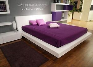 Love can touch us one time and last for a lifetime vinyl wall decal