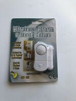 New Wireless Home Security Alarm and Door Chime 20975 Battery operated