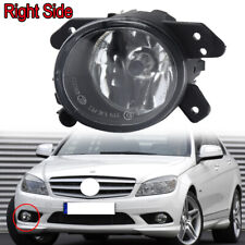 For Mercedes C Class W204 Saloon 6/2007-6/2011 Round Fog Light Lamp Driver Side