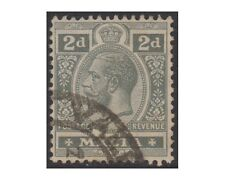 MALTA stamps 1914 KING GEORGE V 2 pence gray  SG.75 used (F45)