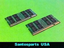 4GB (2GB x 2pcs) DDR2 PC2 Memory RAM HP DV6000 DV9000 DV2000 TX1000 F700