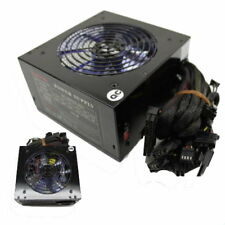 Quiet 700W 700 Watt for Intel AMD PC ATX Power Supply SATA PCI-E 120mm LED Fan