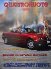 Quattroruote 454 1993 - Test BMW 325 Cabrio - Mercedes C180   [Q37]