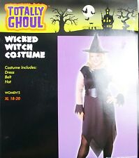 Totally Ghoul Wicked Witch Costume Women's Halloween Costume XL 18-20