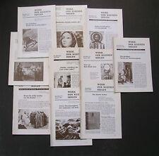 """11 ISSUES """"Werk der Kleinen Seelen"""" GERMAN 1976-85 """"Work of the Little Souls"""" QQ"""