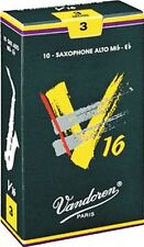 2.5 SIZE VANDOREN V 16 ALTO SAX SAXOPHONE  REEDS BOX OF 10