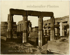 Karnak, Temple of Thutmose by Peridis, Orig. Photo, ca. 1900