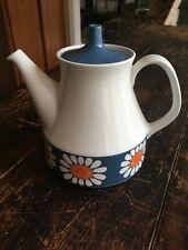 Rare, near perfect Figgjo Flint vintage Daisy tea/coffee pot Scandinavian