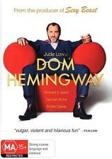Dom Hemingway DVD NEW RELEASE Jude Law COMEDY BRAND NEW R4