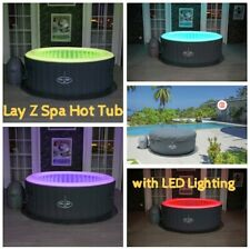 BESTWAY Lay-Z SPA BALI AirJet Hot Tub Jacuzzi 2-4 persona with light
