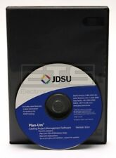 JDSU Plan-Um Cabling Project Management Computer Software CD-ROM Version 3.0.4