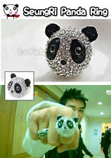 Korean Kpop Band Big Bang SeungRi Panda Head Ring (Size 6/7/8)