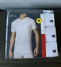 Tommy Hilfiger 3-Pack Men's Crew Neck T-shirt White  size Medium