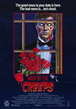 NIGHT OF THE CREEPS Movie MINI Promo POSTER Jason Lively Jill Whitlow Tom Atkins